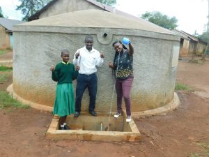 The Water Project:  Eunice With Mr Livondo And Jacklyne