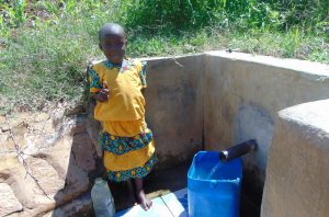 The Water Project:  Young Girl At The Spring