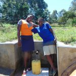 The Water Project: Luyeshe Community, Matolo Spring -  Happy Day At The Spring