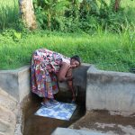 The Water Project: Mukhangu Community, Okumu Spring -  Felistus Isalikhu