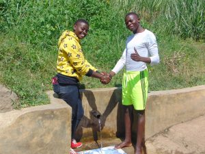 The Water Project:  Field Officer Jemmimah Khasoha With Elias