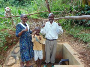 The Water Project:  Field Officer Joan Were With Austine And Juma