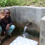The Water Project: Ewamakhumbi Community, Yanga Spring -  Robinson Yanga