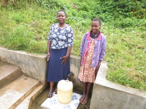 The Water Project:  Field Officer Betty With Lilian Nechesa