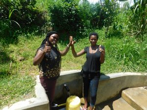 The Water Project:  Field Officer Jacklyne Chelagat With Margret