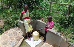 The Water Project:  Truphena And Rose Fetch Water