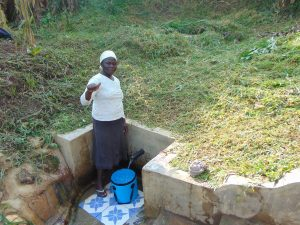 The Water Project:  Doris Shitsuli Gives A Thumbs Up For Clean Water