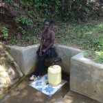 The Water Project: Shitirira Community, Peninah Spring -  Babra Kati