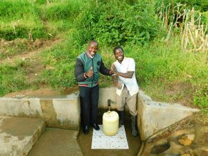 The Water Project:  Jonathan And Horren Miheso