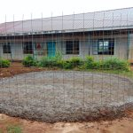 The Water Project: Magaka Primary School -  Rain Tank Foundation