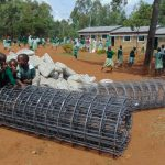 The Water Project: Lwanga Itulubini Primary School -  Students Check Out The Rebar