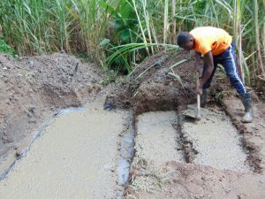 The Water Project:  Laying The Spring Foundation