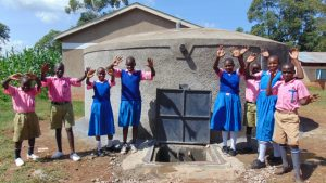The Water Project:  Celebrating The Rain Tank