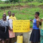 The Water Project: Shihungu Community, Shihungu Spring -  Thank You Ericks Hope