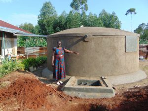 The Water Project:  Head Teacher Mrs Jane Ayodi