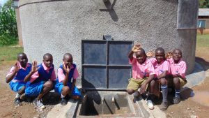 The Water Project:  Happy Faces At The New Tank