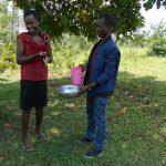 The Water Project: Buyangu Community, Osundwa Spring -  Handwashing Demonstration