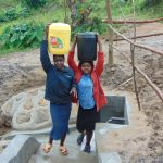 The Water Project: Sasala Community, Kasit Spring -  Water Is Always So Heavy