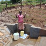 The Water Project: Shihungu Community, Shihungu Spring -  Celebrating The New Spring