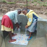 The Water Project: Sasala Community, Kasit Spring -  Girls At The Spring