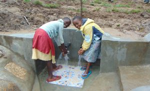 The Water Project:  Girls At The Spring