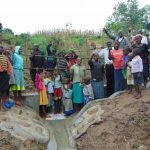 The Water Project: Sasala Community, Kasit Spring -  Community Celebrating The New Spring