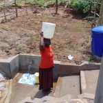 The Water Project: Shihungu Community, Shihungu Spring -  Ready To Walk Home