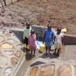 The Water Project: Shihungu Community, Shihungu Spring -  Kids At The Spring