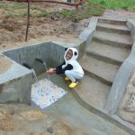 The Water Project: Sasala Community, Kasit Spring -  Pandas Like Clean Water Too