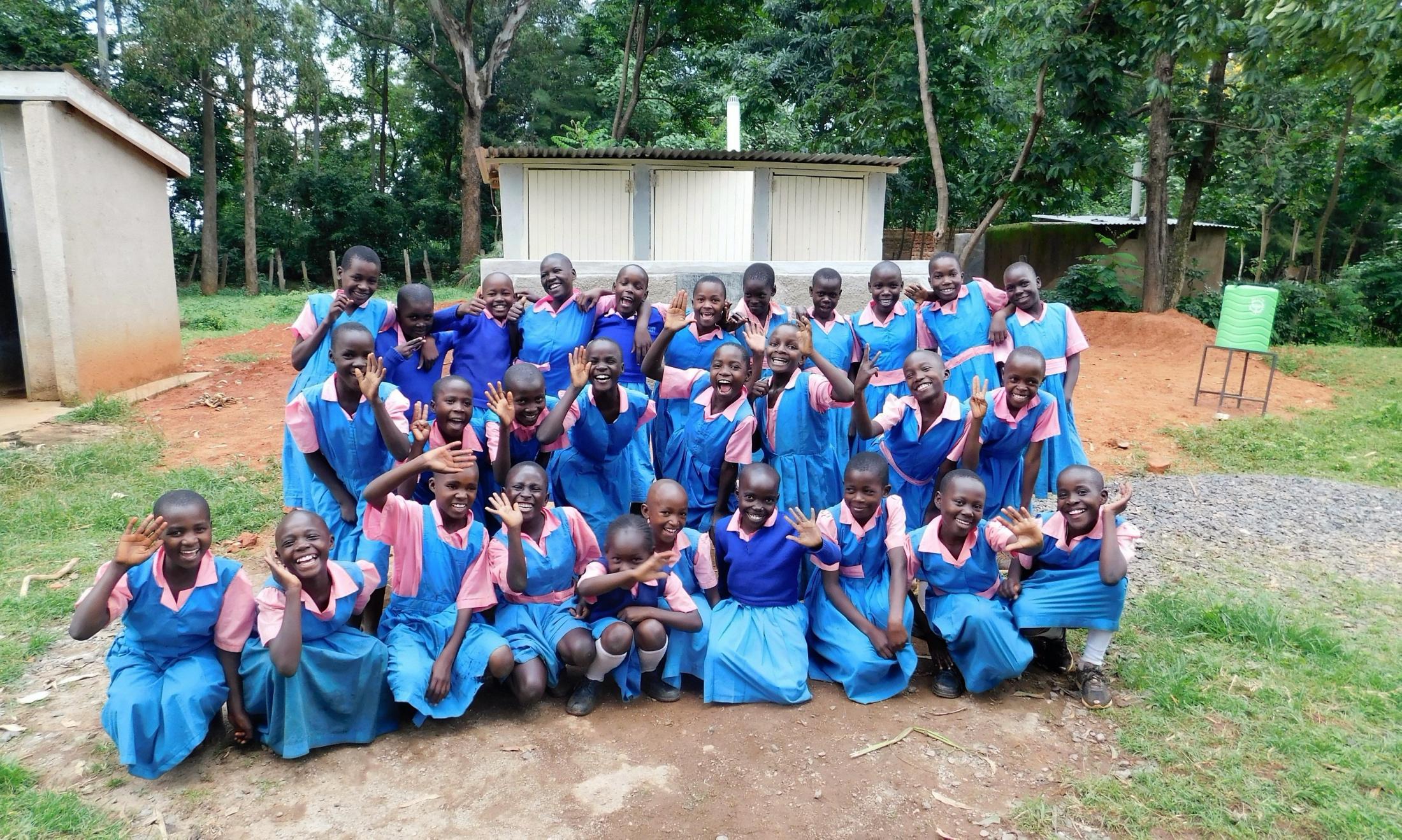 The Water Project : 39-kenya19044-joyous-students