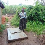 The Water Project: Sasala Community, Kasit Spring -  Proud New Sanitation Platform Owner
