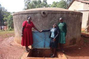 The Water Project:  Ms Asatsa Field Officer Mary And Noreen