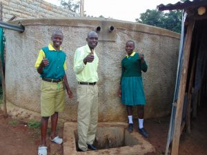 The Water Project:  Mr Wegulo With Arnold And Faith