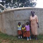 The Water Project: Shihalia Primary School -  Deputy Head Teacher Eunice With Pre Primary Pupils