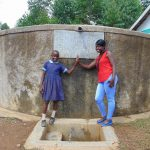 The Water Project: Shihimba Primary School -  Purity With Field Officer Jemmimah Khasoha