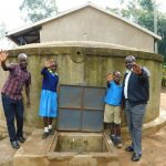 The Water Project: Emukangu Primary School, Shibuli -  Field Officer Victor Musemi Joins The Photo