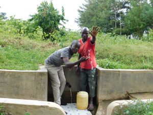The Water Project:  Victor And Jeremiah Make A Splash