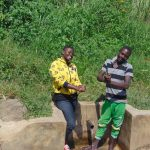 The Water Project: Burachu B Community, Maji Mazuri Spring -  Jemmimah With Irbahim Okumu