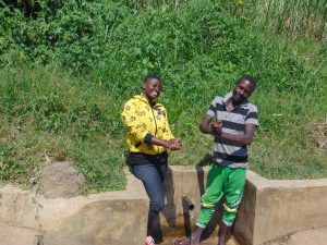 The Water Project:  Jemmimah With Irbahim Okumu