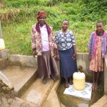 The Water Project: Emachembe Community, Hosea Spring -  Annet Betty And Lilian