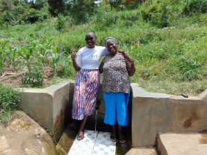 The Water Project:  Mary With Field Officer Joan Were