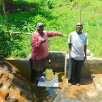 The Water Project: Koloch Community, Solomon Pendi Spring -  Proud Faces At The Spring