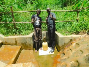 The Water Project:  Ivan With Field Officer Wilson