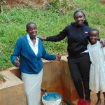 The Water Project: Chepnonochi Community, Chepnonochi Spring -  Christine Laura And Sarah