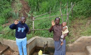 The Water Project:  Field Officer Allan Amadaro With Judith