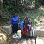 The Water Project: Shitirira Community, Peninah Spring -  Fetching Water