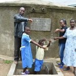 The Water Project: Ikoli Primary School -  All Smiles At The Rain Tank