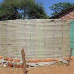 The Water Project: Lwanga Itulubini Primary School -  Tank Walls Going Up
