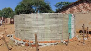 The Water Project:  Tank Walls Going Up