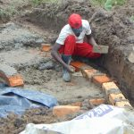 The Water Project: Sasala Community, Kasit Spring -  Brick Setting Begins